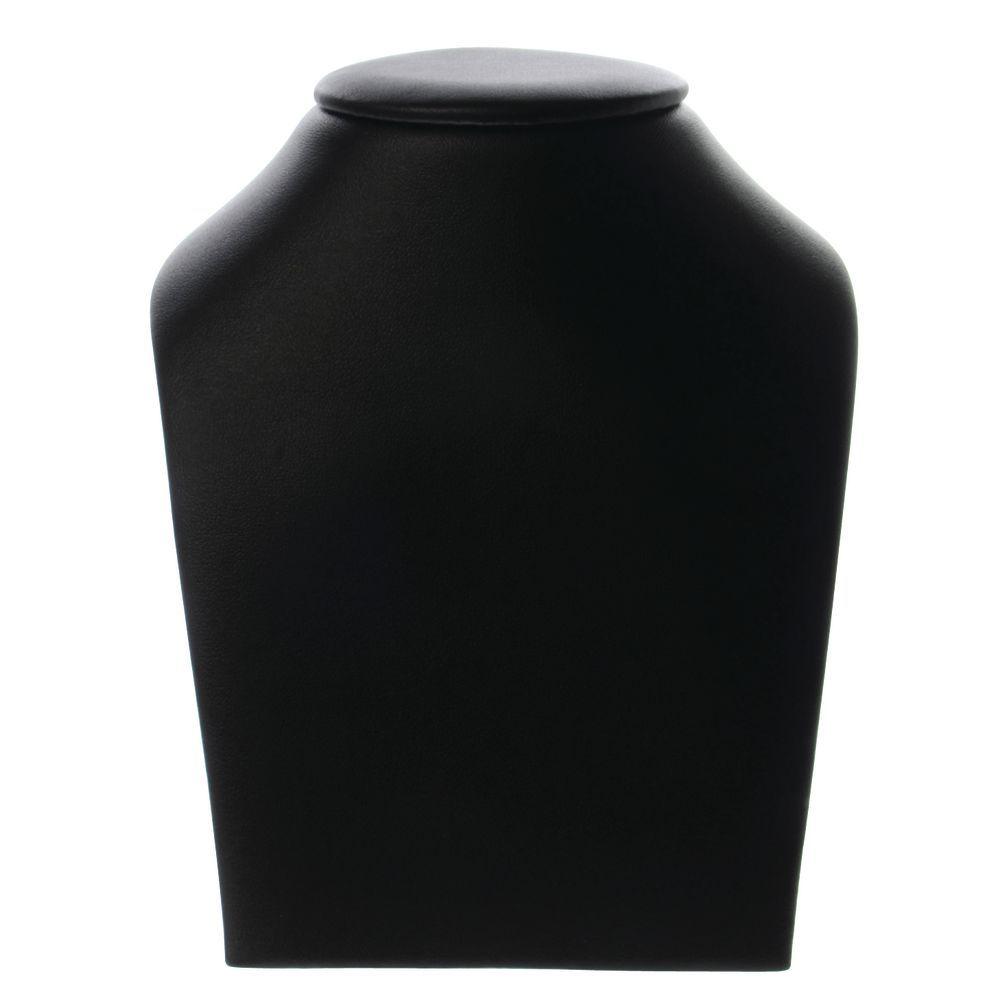 NECK FORM, BLACK LEATHERETTE, 5-1/2H