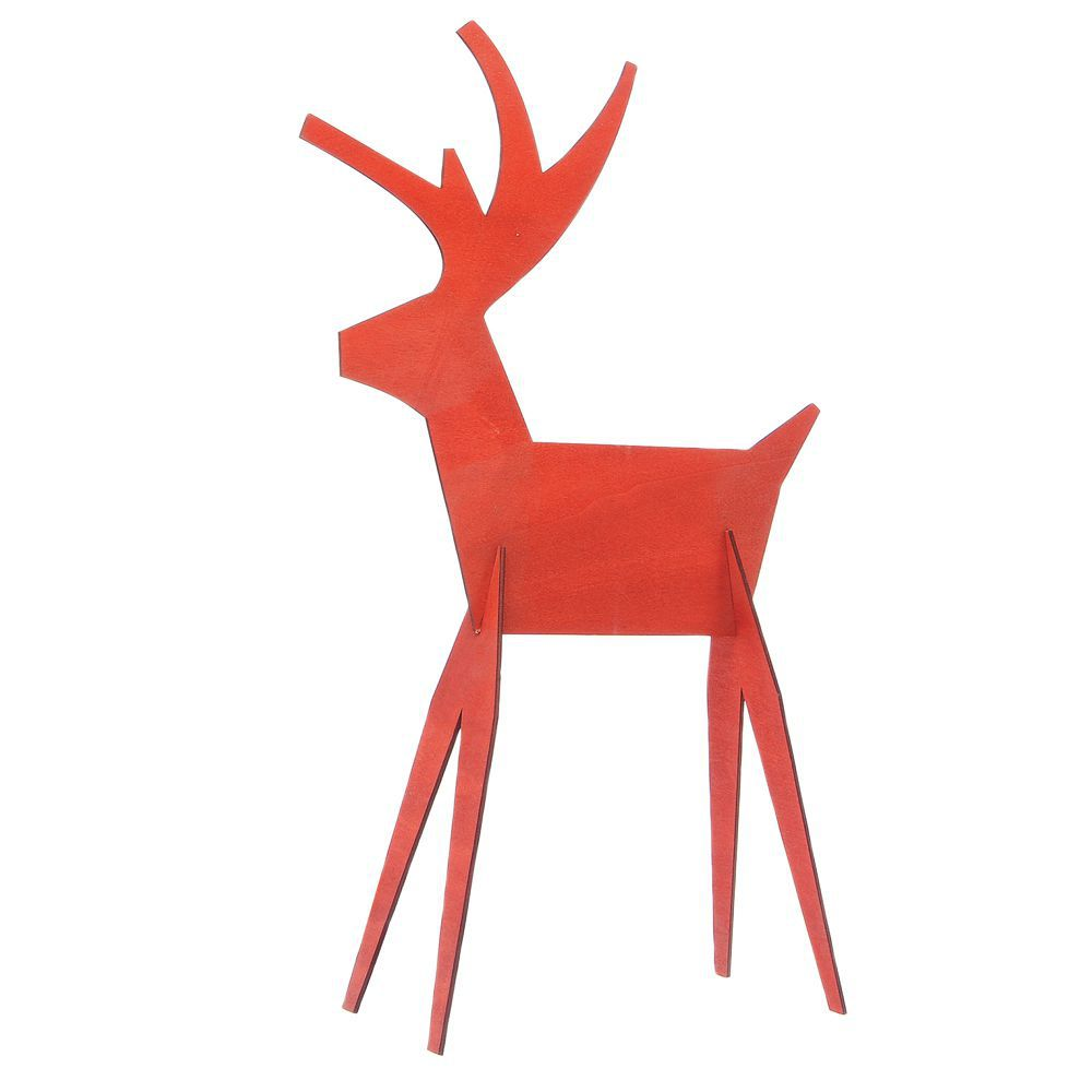 Medium Red Reindeer Decorations