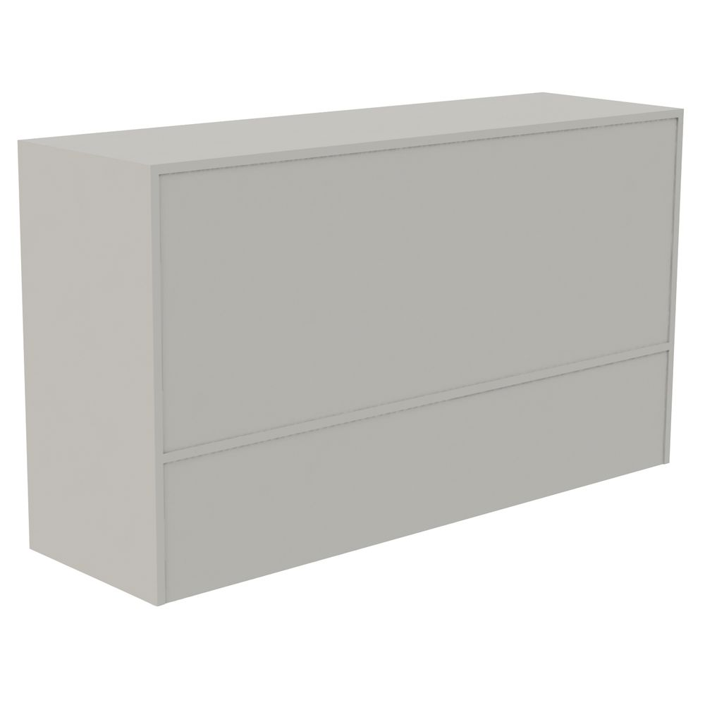 """STAND, WRAP, ADA, GREY, 60""""Wx18""""Dx34""""H"""