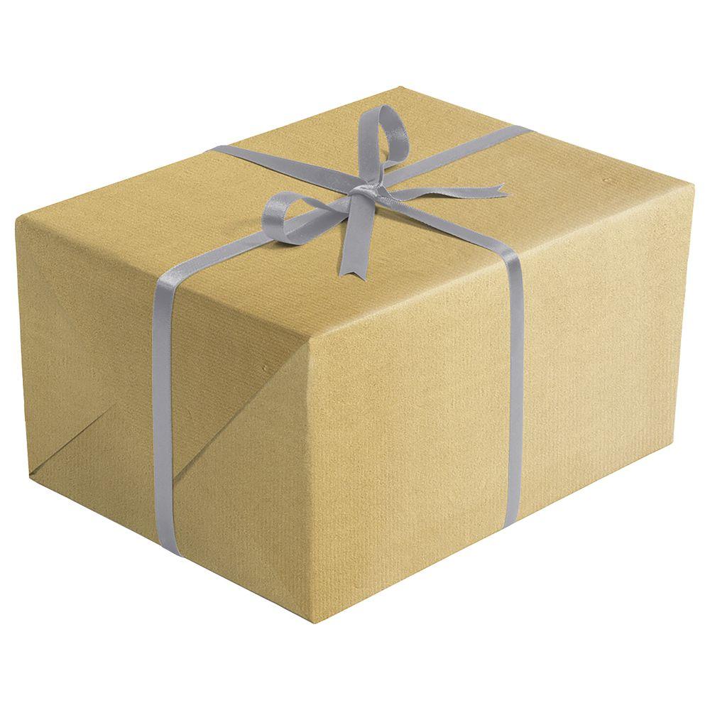 Gold + Silver Retail Gift Wrap