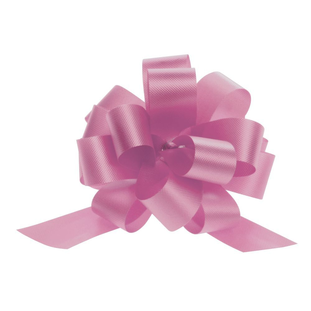 4 (W) Pull Bows, Pink