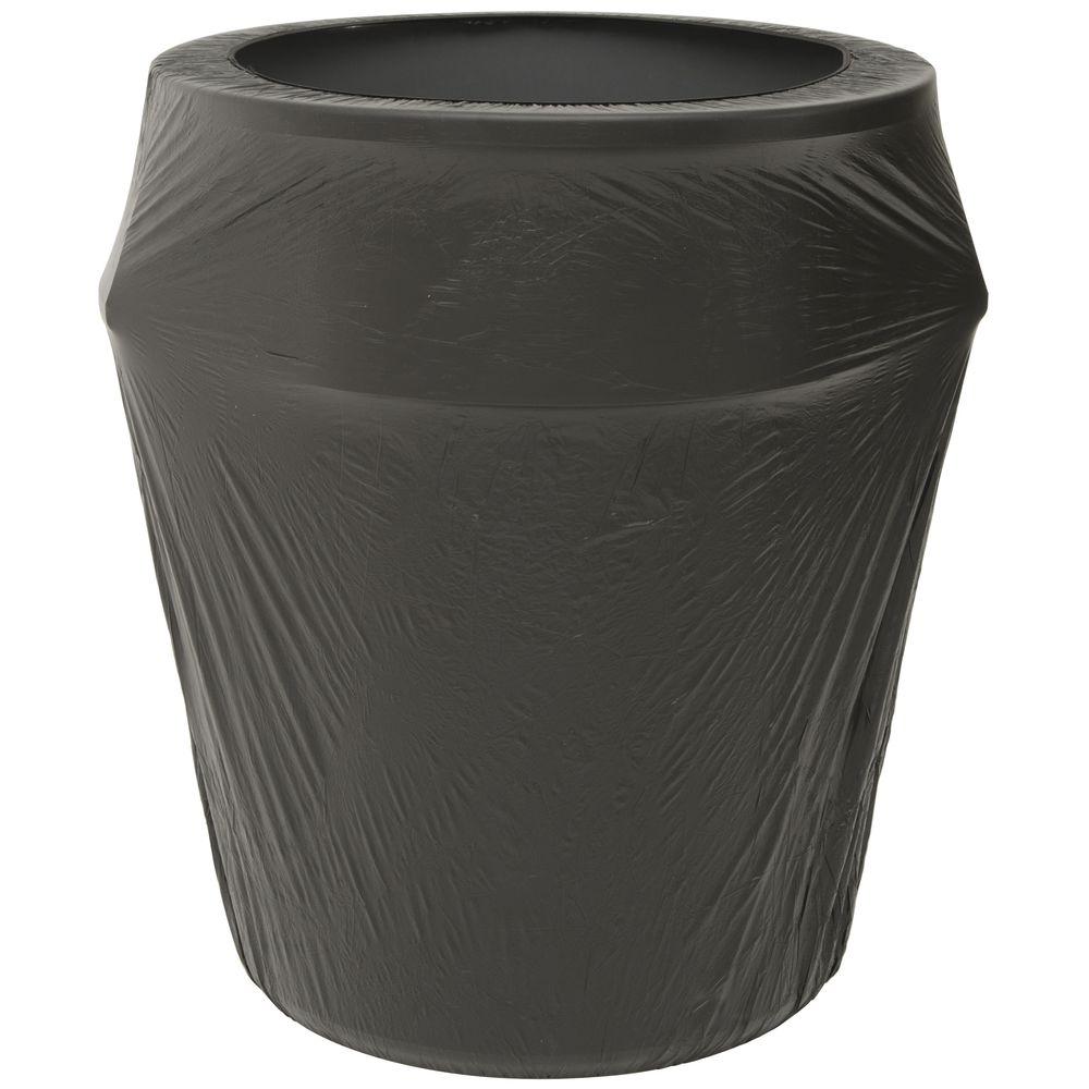 Kwik-Can Cover © Black Plastic 55 Gallon