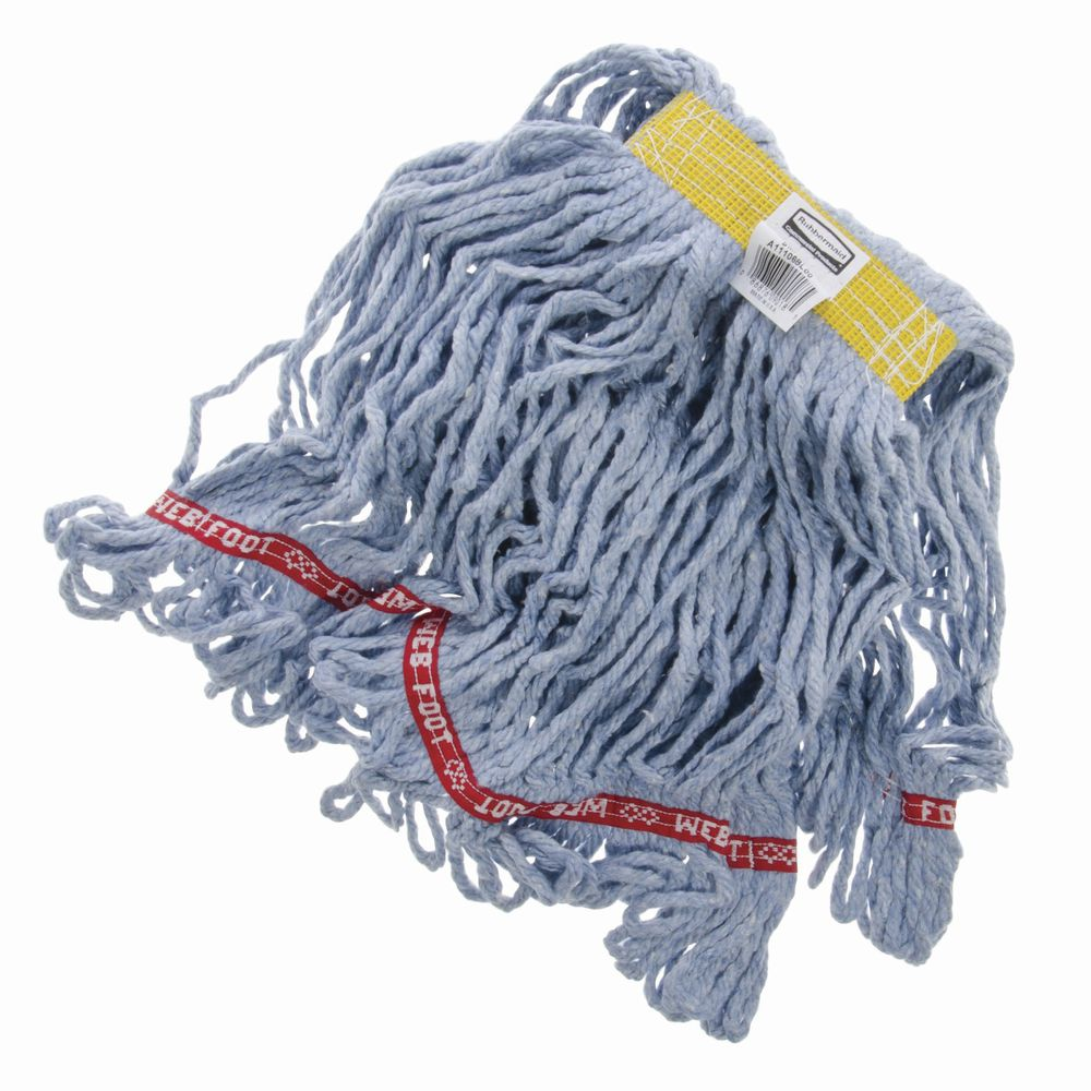 "BLUE 1""HB SMALL ANTIMICROBIAL WET MOP"