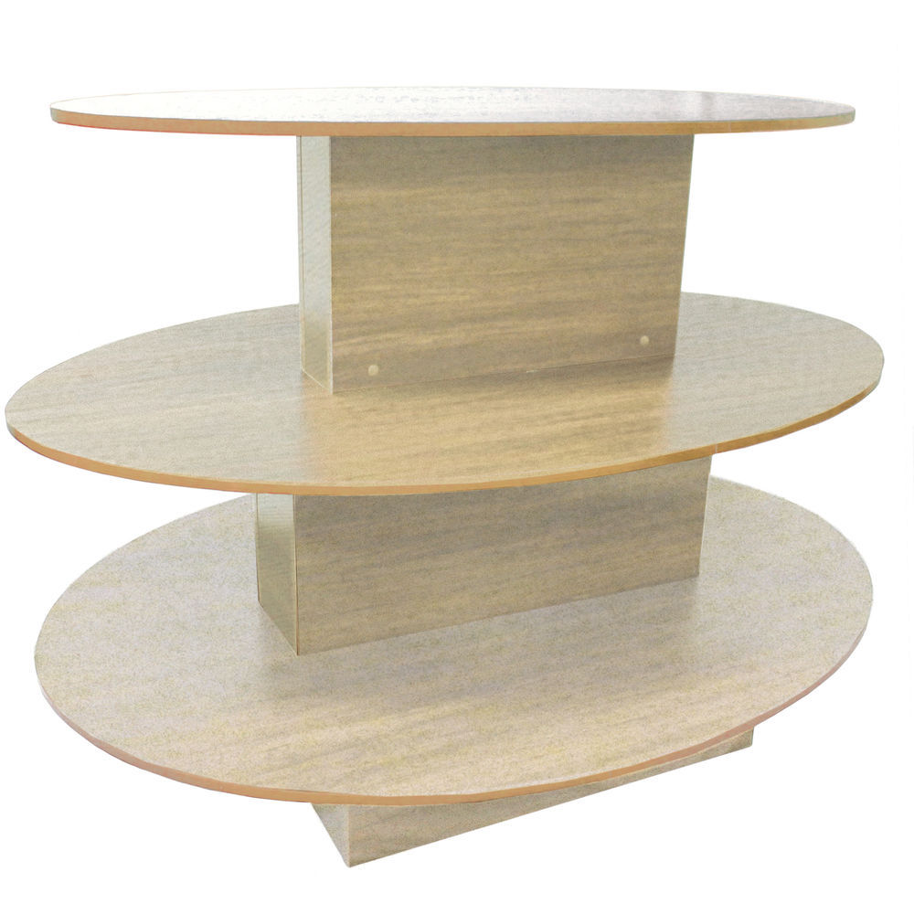 Oval 3-Tier Display