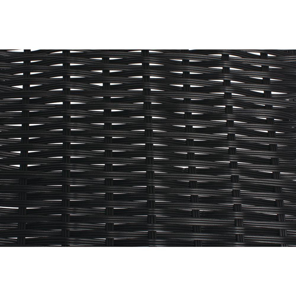 BASKET, 30DX7.5LX8HX1.5H, TRI-CORD, BLACK