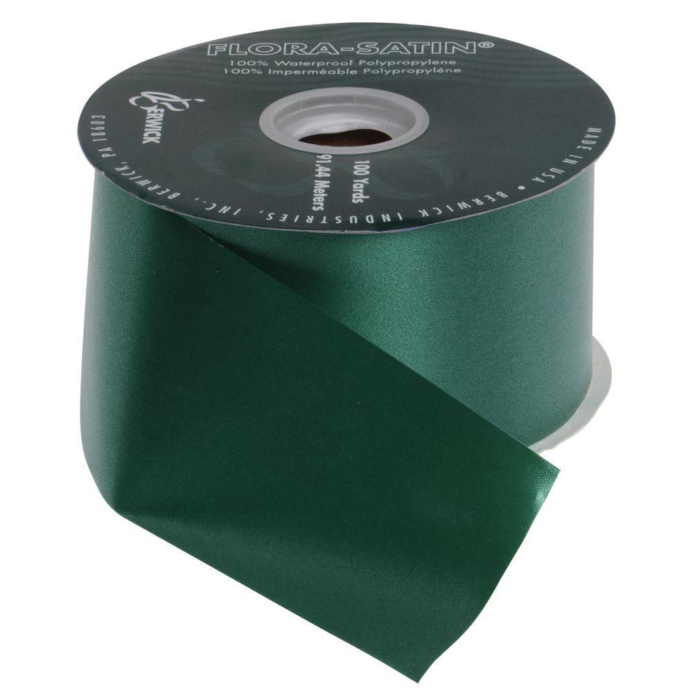 2 1/2 (W)  Decorative Ribbon, Hunter Green