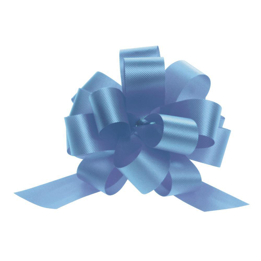 4 (W) Pull Bows, Light Blue