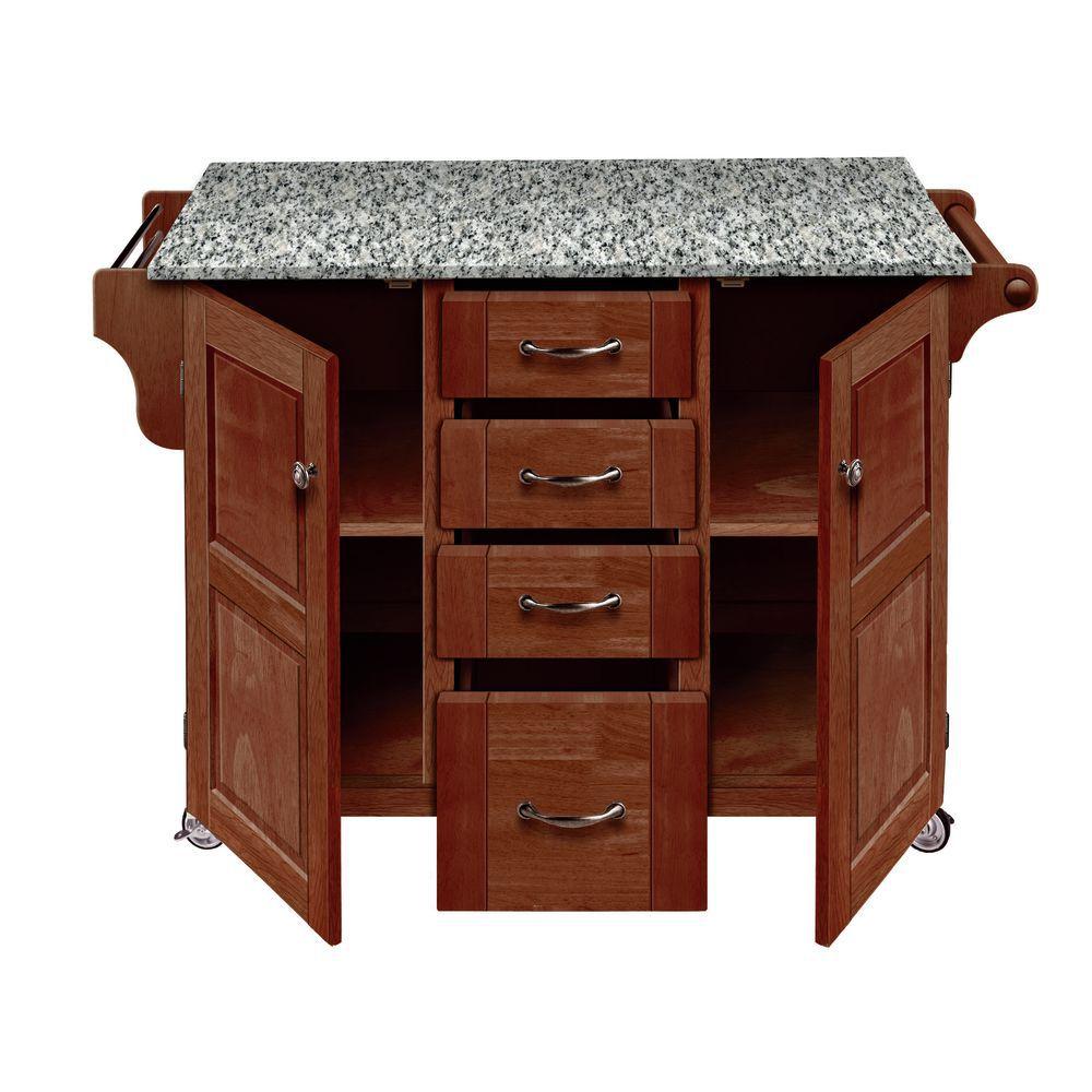 astounding portable kitchen islands granite tops | Granite Top Portable Kitchen Island