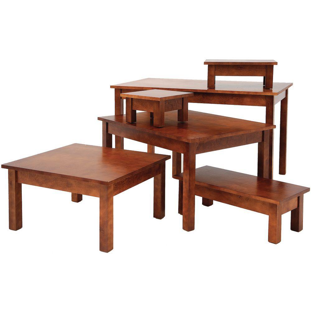 TABLE, MAHOGANY, 44LX26WX27H
