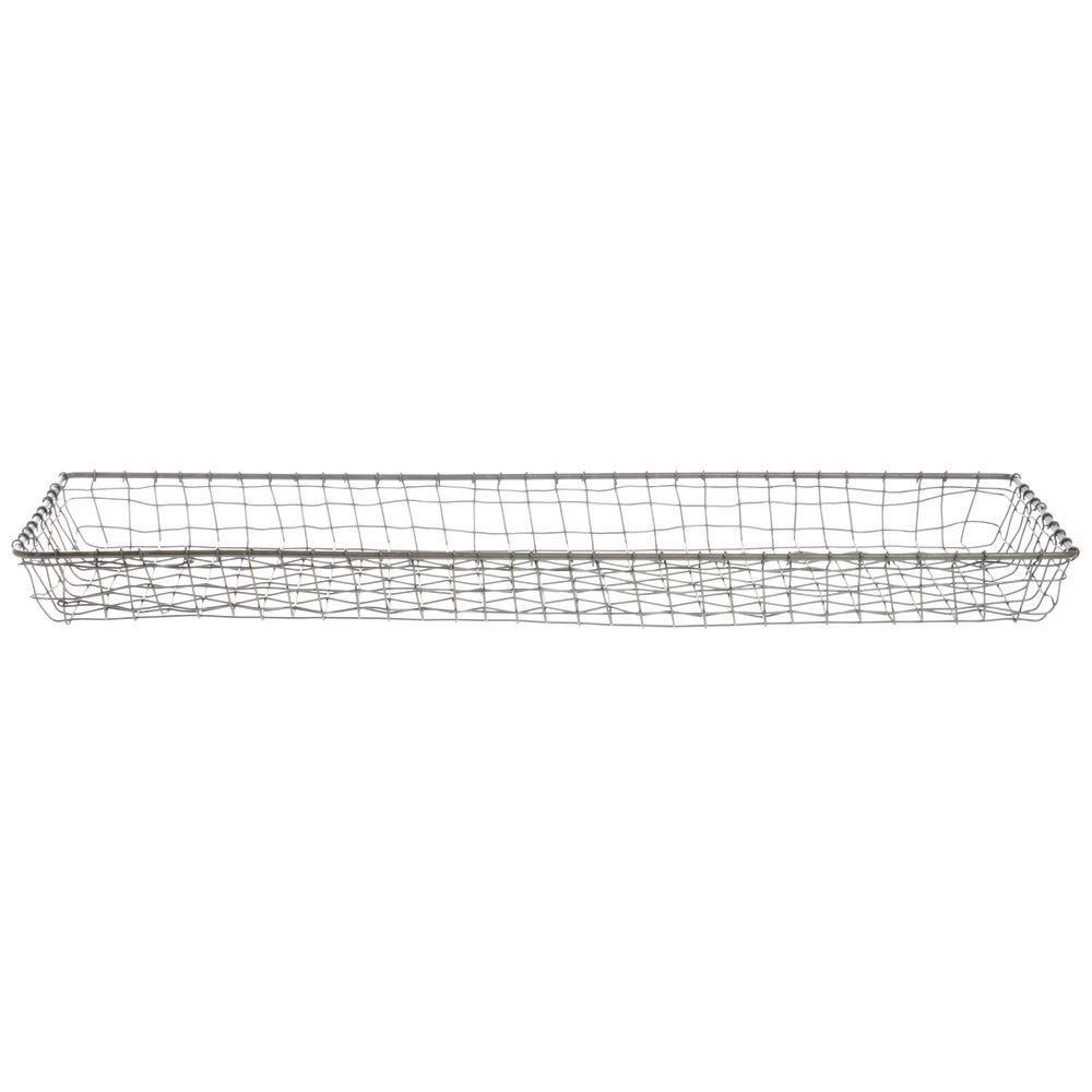 CO BASKET, CABO RECT WIRE, 26 X 9 X 2