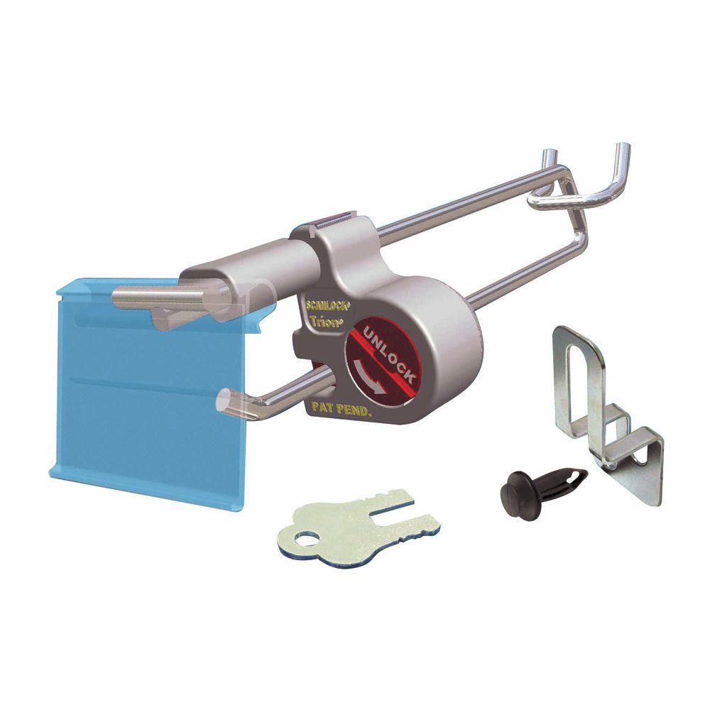 ScanLock™ Peg Hook Security Locks