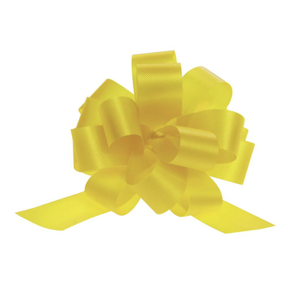 4 (W) Pull Bows, Yellow