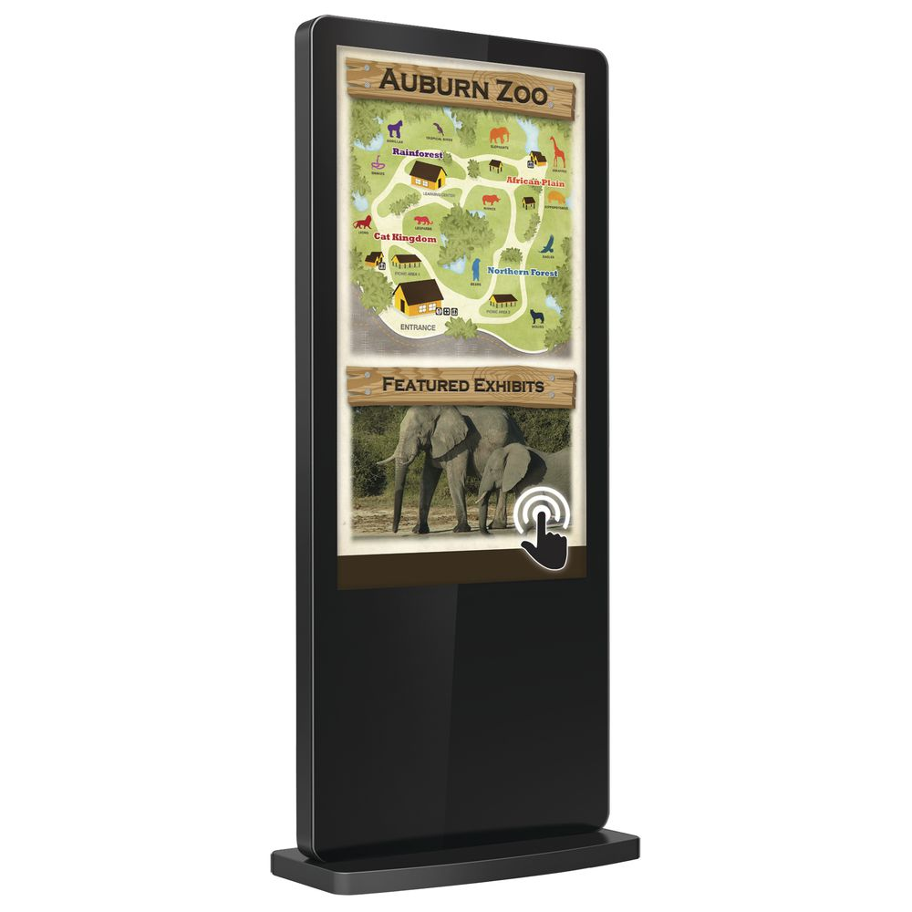 "SIGN, TOUCHSCREEN, FREESTANDING, 55""SCREEN"