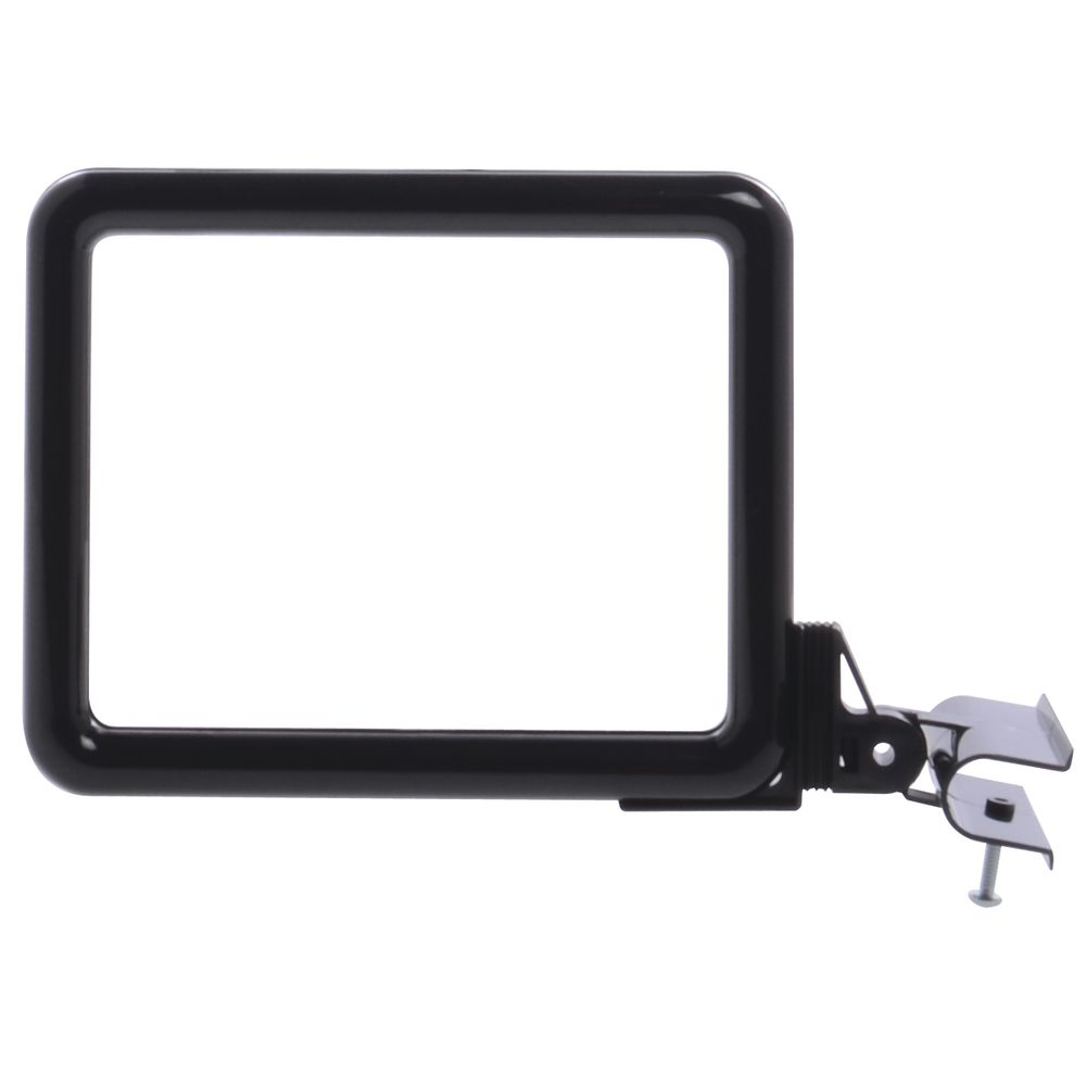 7 x 5 1/2 Clamp Sign Holder, Black