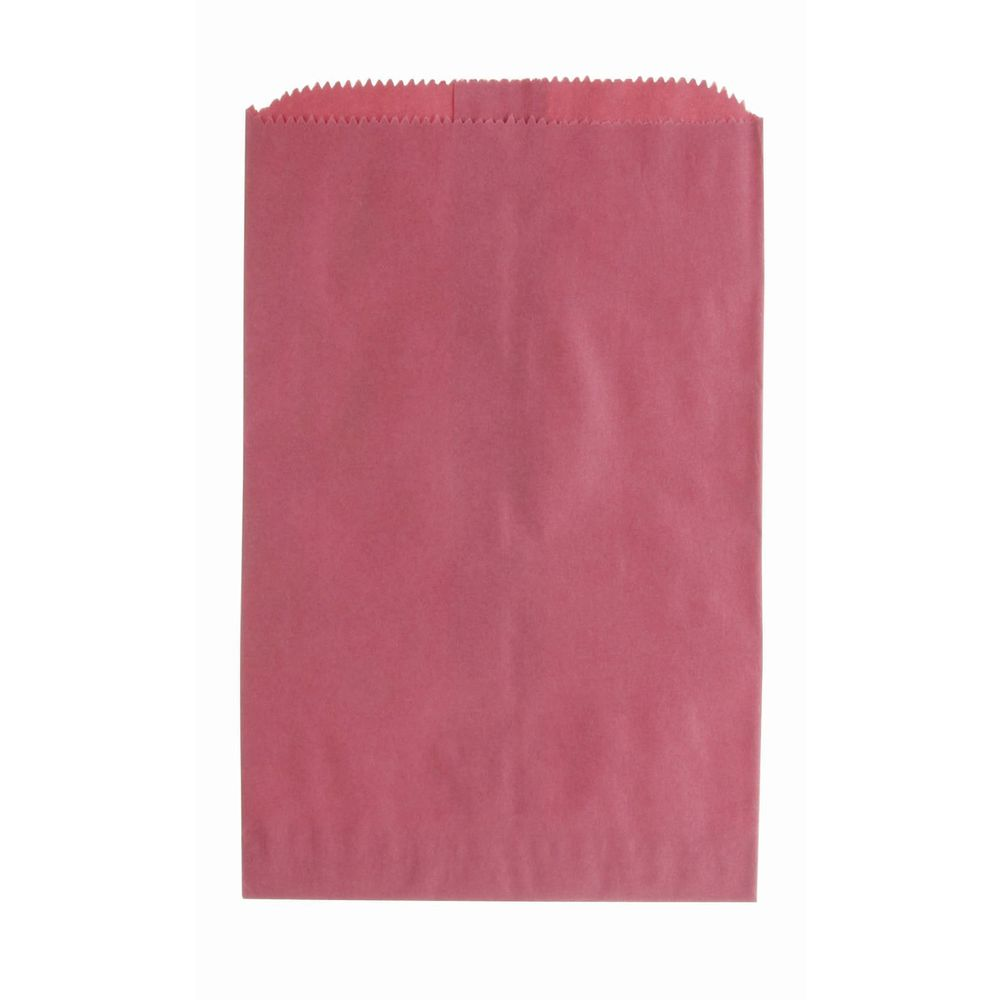 """6 1/4"""" x 9 1/4"""" Merchandise Bags, Red"""