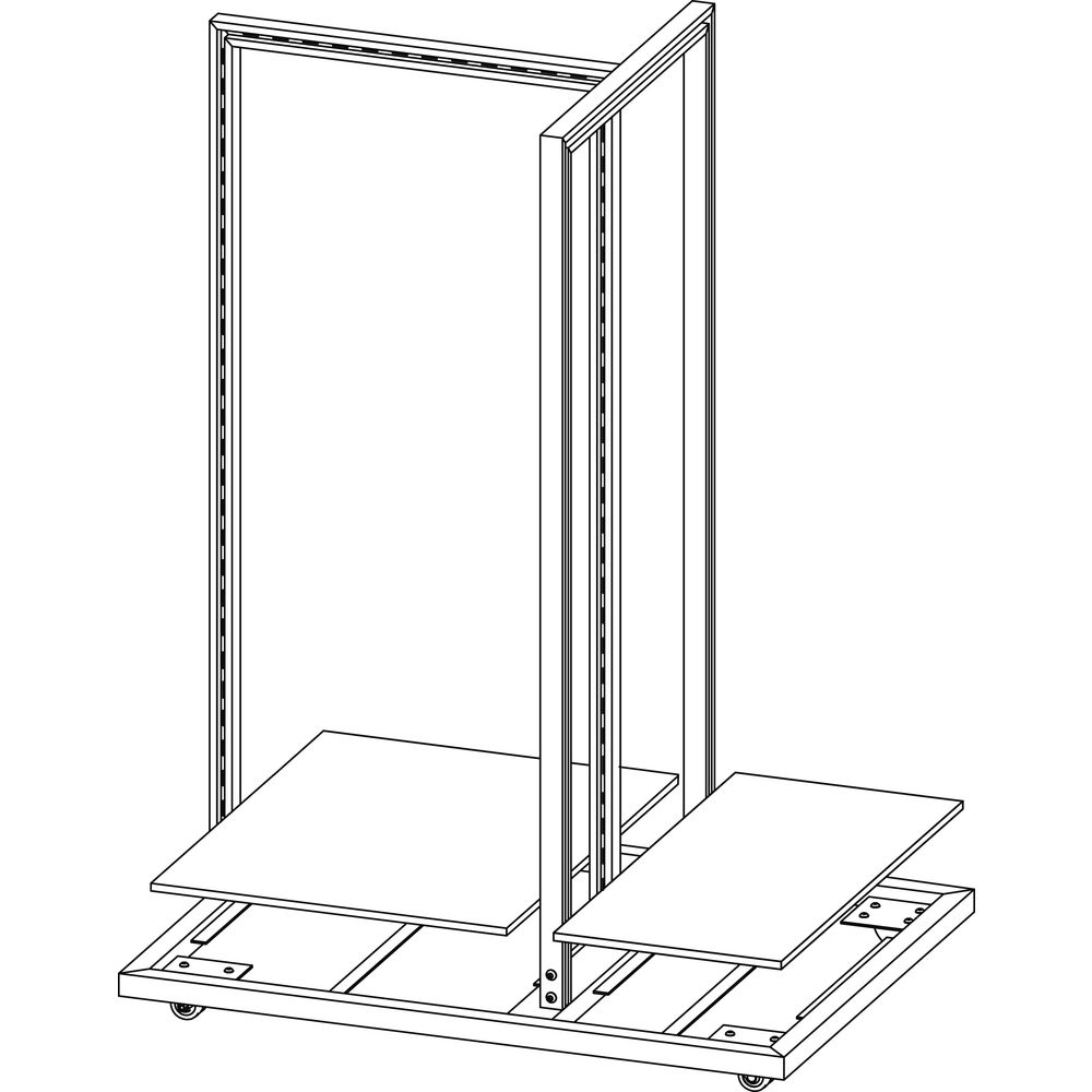 3 Sided Display Fixture