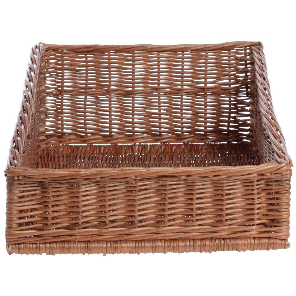 Wicker Display Basket is Hand-woven