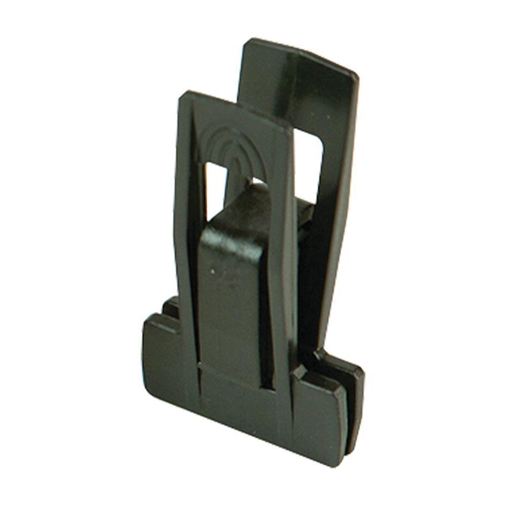 Velvet Hanger Clips Black