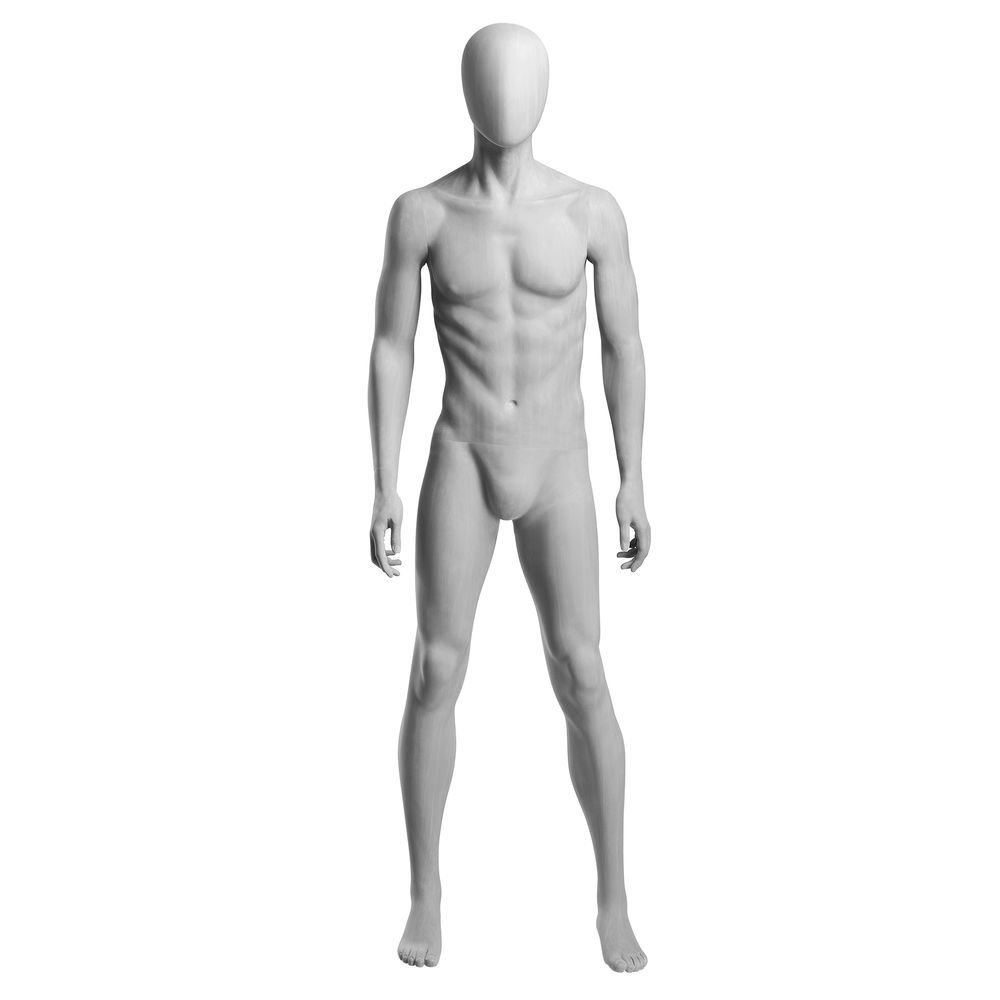 Arms at Side Male Mannequin