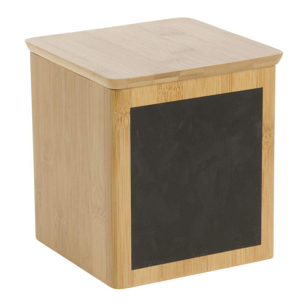 """Tablecraft Bamboo Holder 6 1/8"""" Square x 6 5/8""""H"""