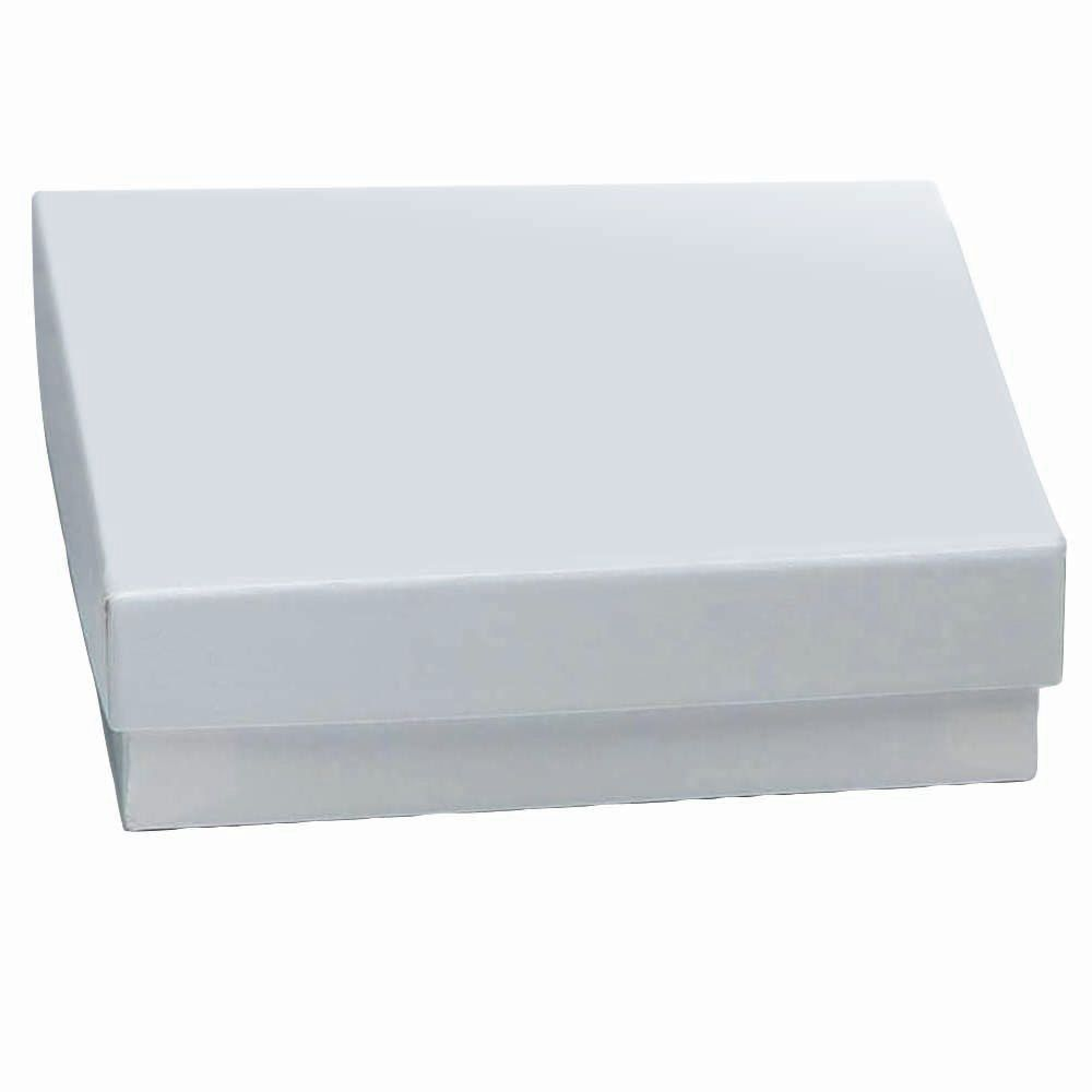 Krome White Cardboard Jewelry Boxes