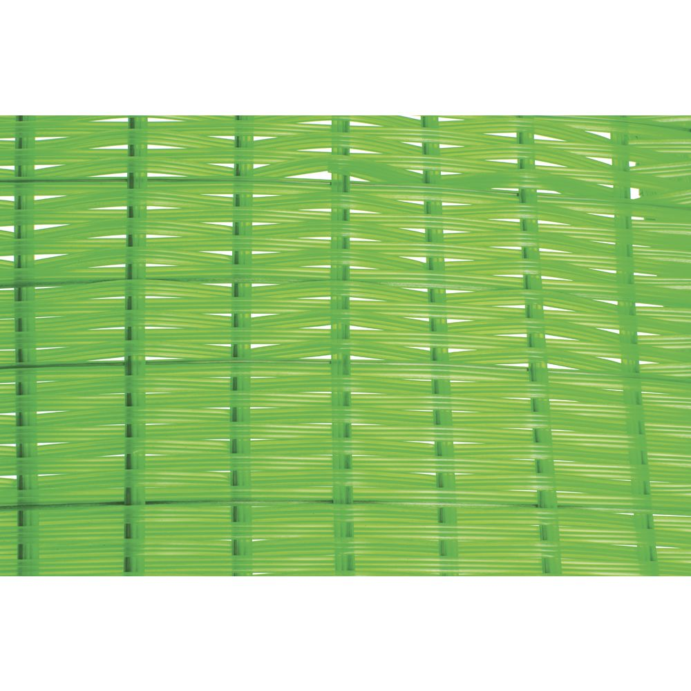 "CO BASKET, 12X11.5X4X1.5"", TRI-CORD, GREEN"