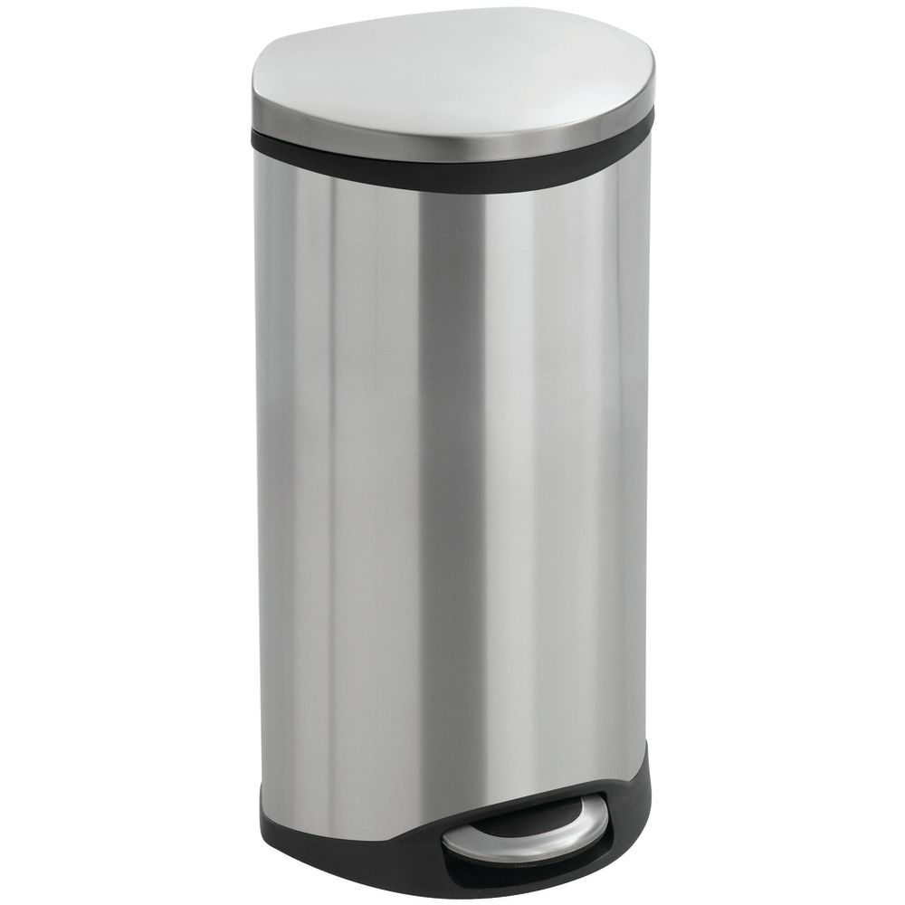 RECEPTACLE, STEPON, STAINLESS STEEL, 7.5GAL