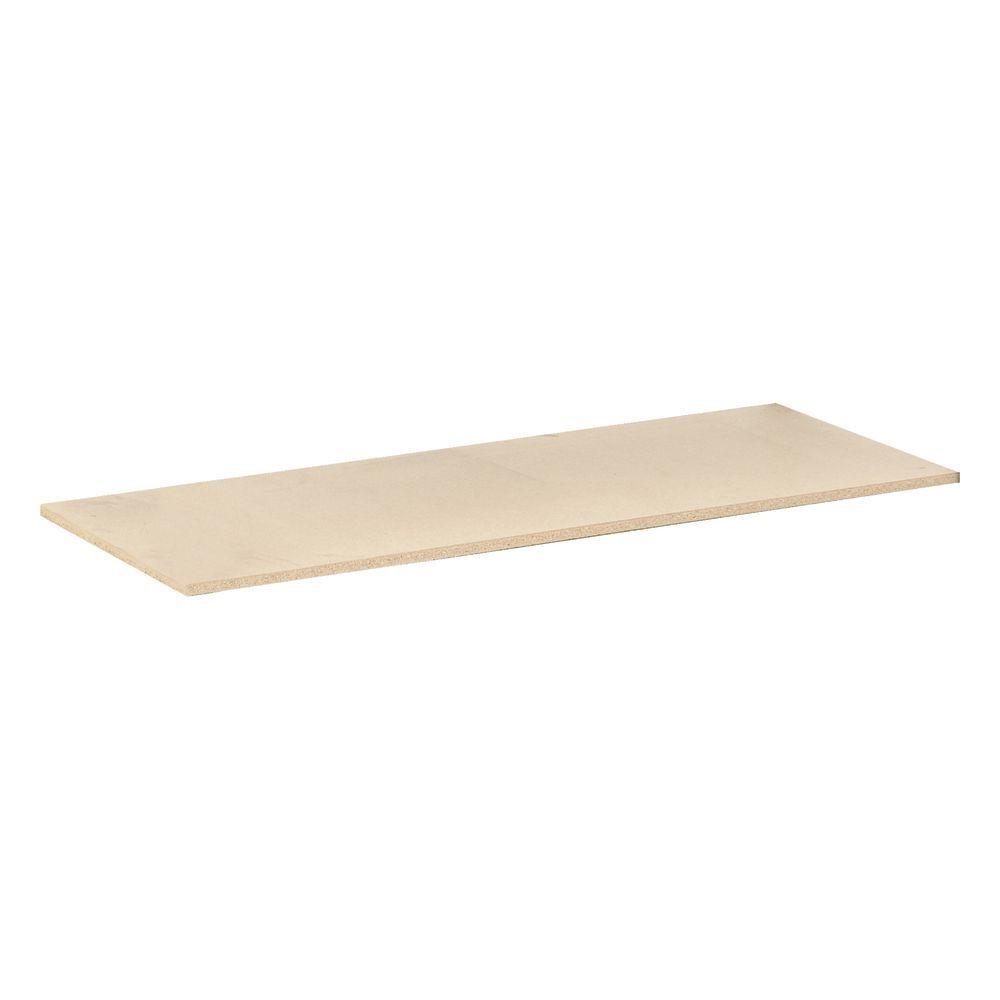 24 x 48 Tan Particle Board Shelving