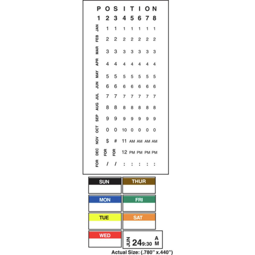 Monarch 1131 Time + Date Label Gun 1-Line