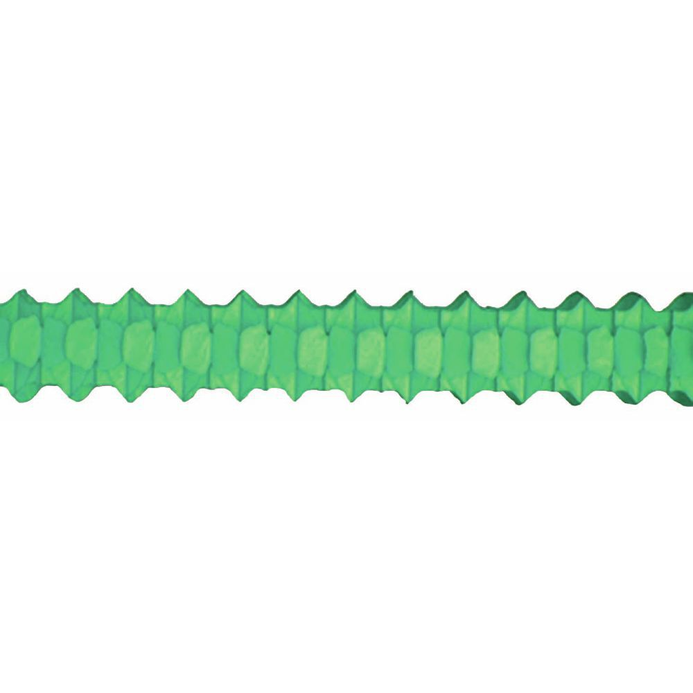 GARLAND, ARCH, SOLID GREEN, 12'L