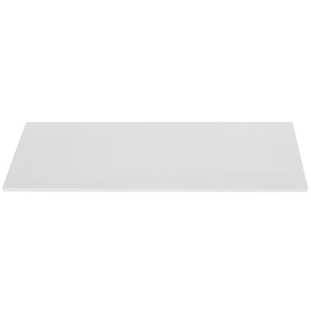 """48"""" x 14"""" White Melamine Shelf"""