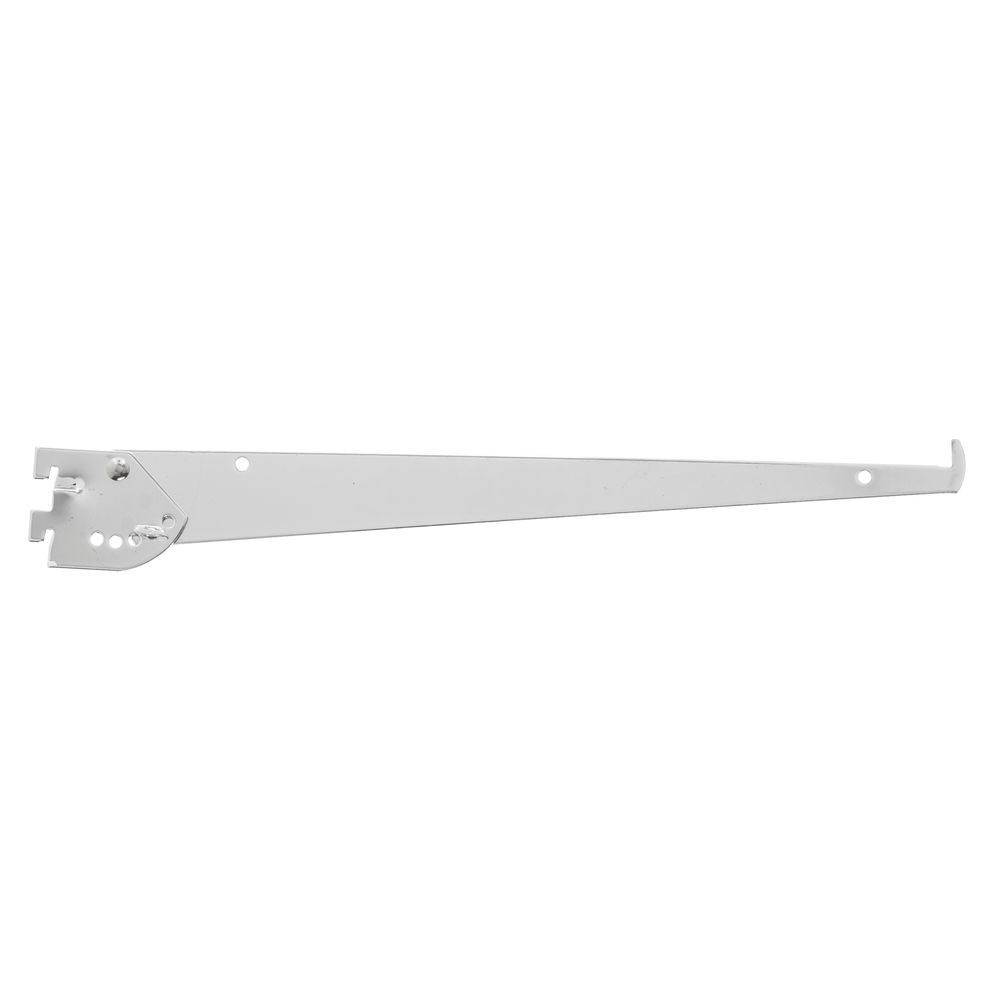 President Line Adjustable Tap-In Shelf Bracket 14 Inch
