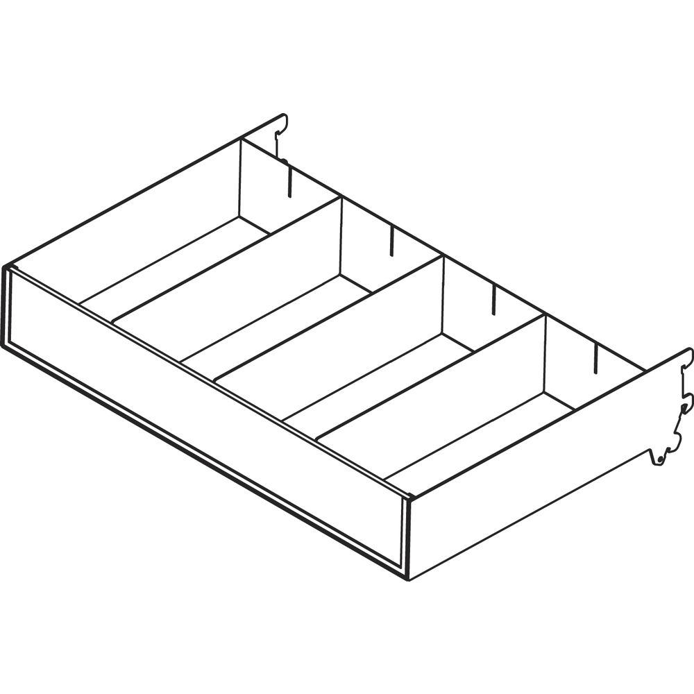 Burnside Steel Shelf with Dividers