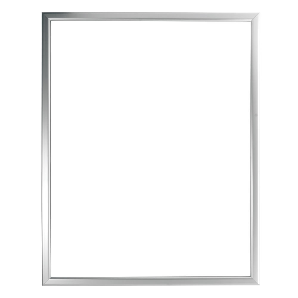 22 x 28 Vertical Sign Holder Silver