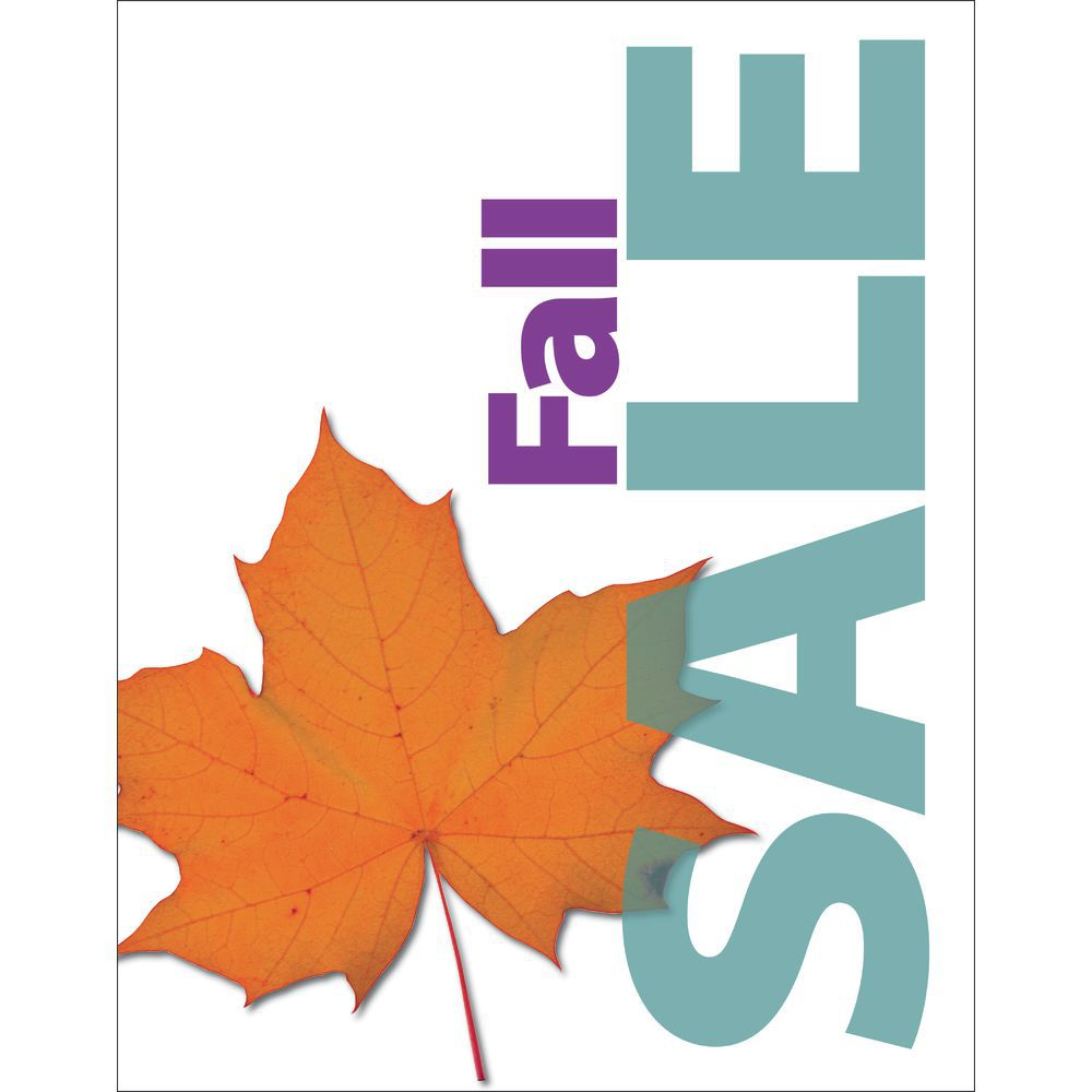 fall sale signs
