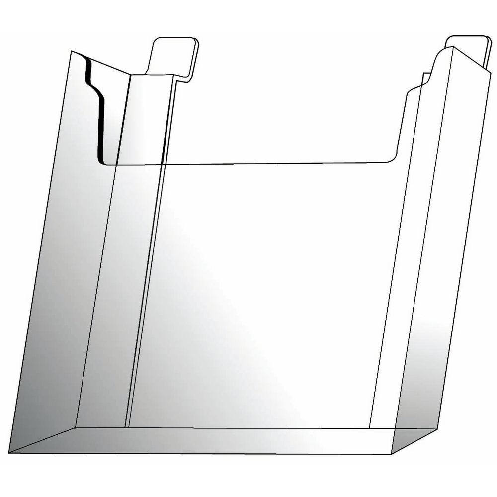 Slatwall Leaflet Literature Holders