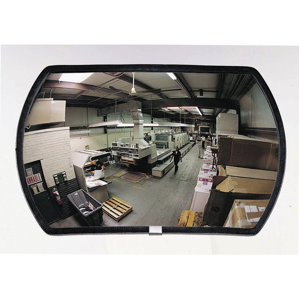 "Convex Security Mirror, 15"" x 24"""