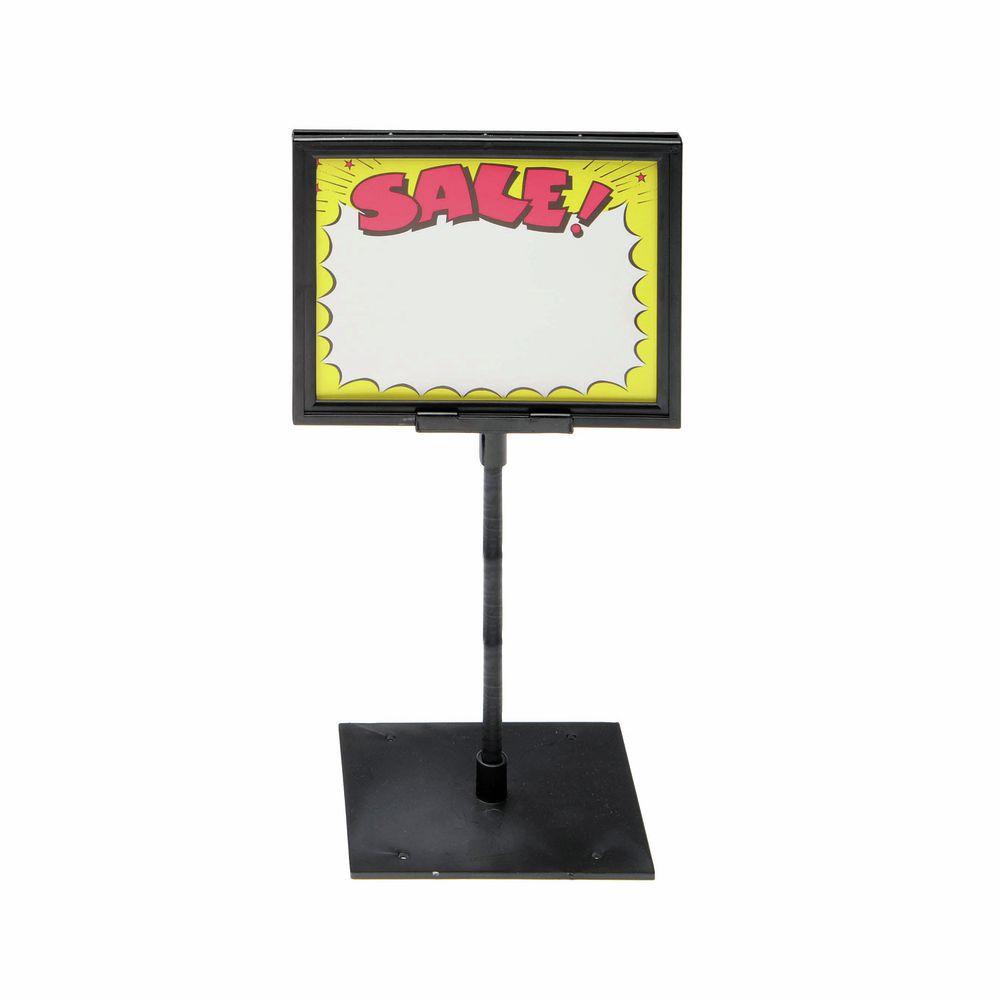 Center Base Counter Sign Holder