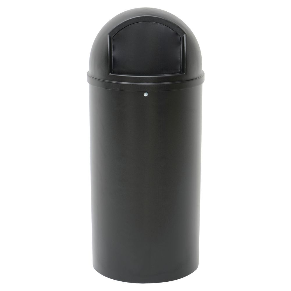 Fire Safe 25 Gallon Trash Can is Ideal for Outdoor Environments
