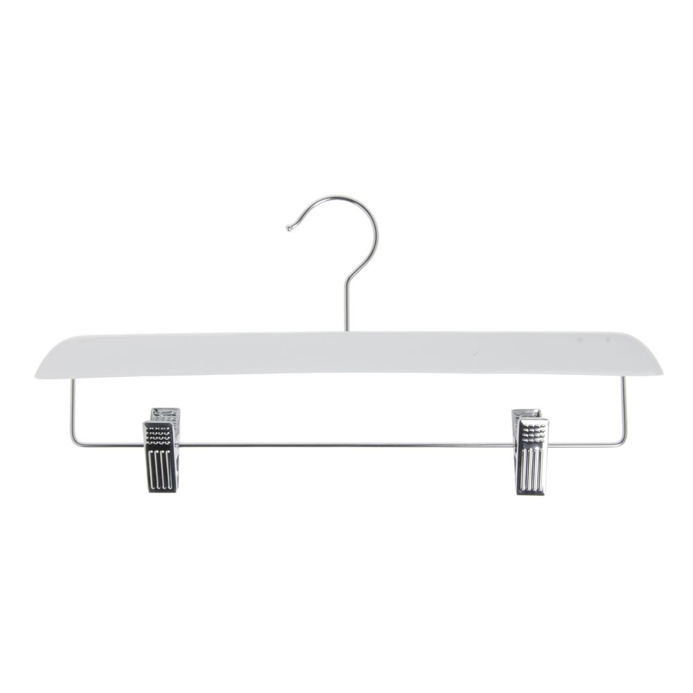 14 Contemporary Skirtpant Wooden Hanger White