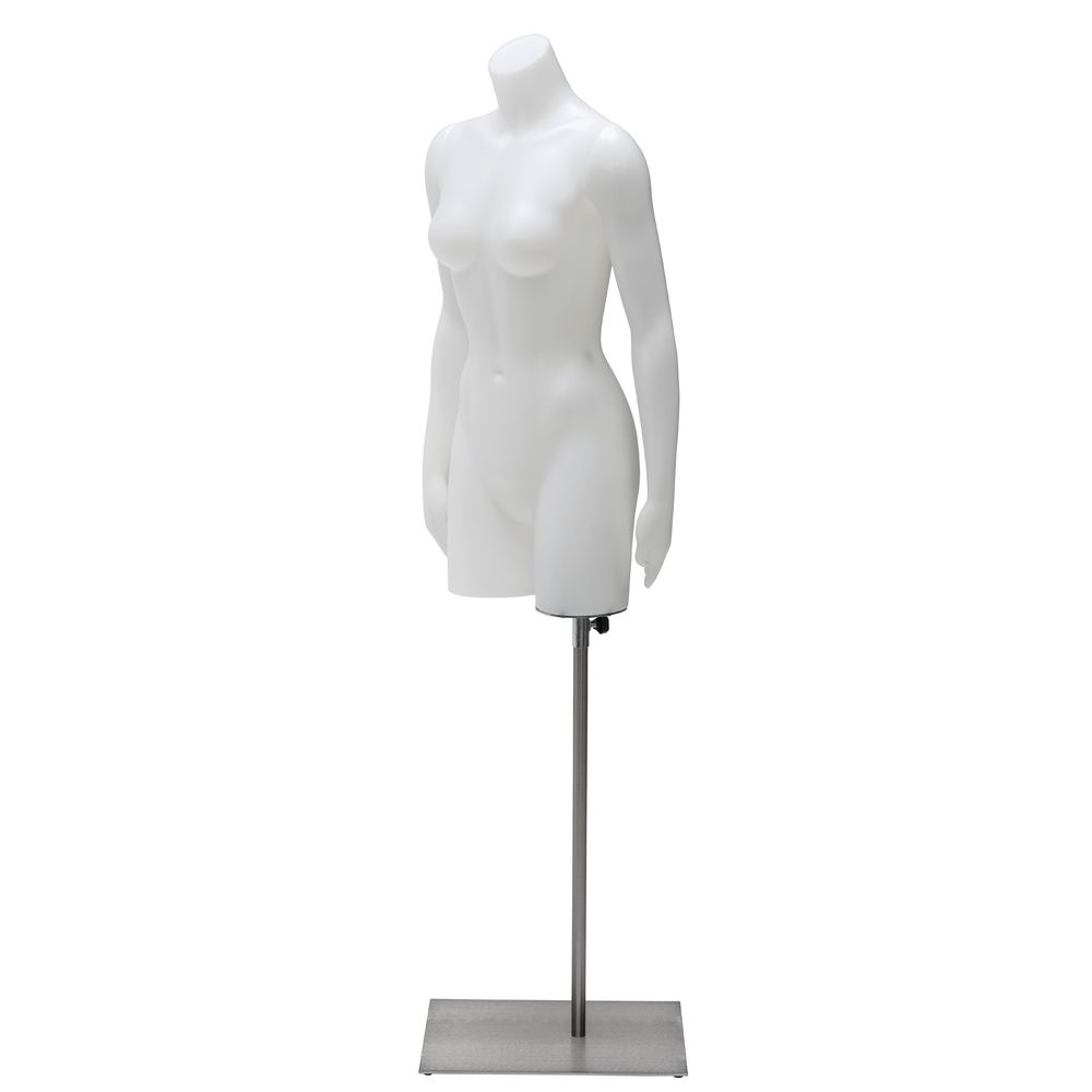 Unbreakable Mannequin Torso w/ Arms to the Side, Female