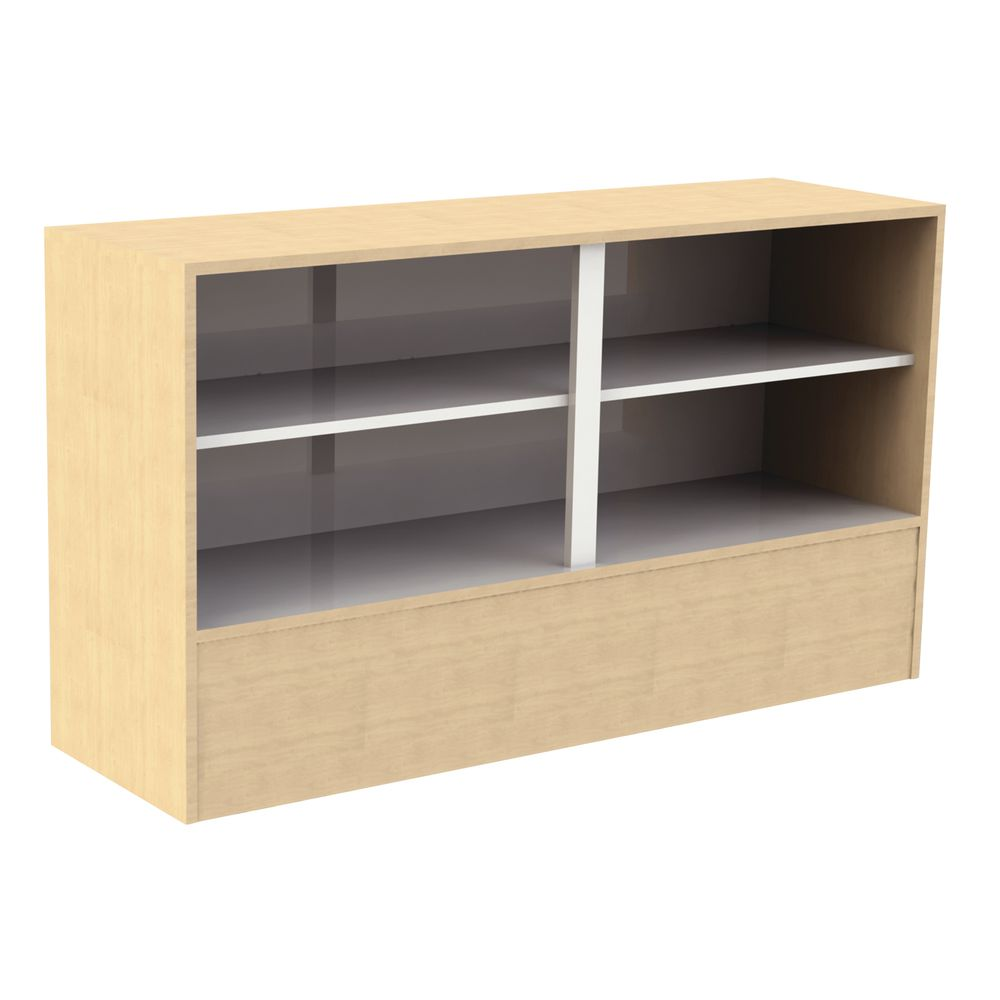 """STAND, WRAP, ADA, MAPLE, 60""""Wx18""""Dx34""""H"""