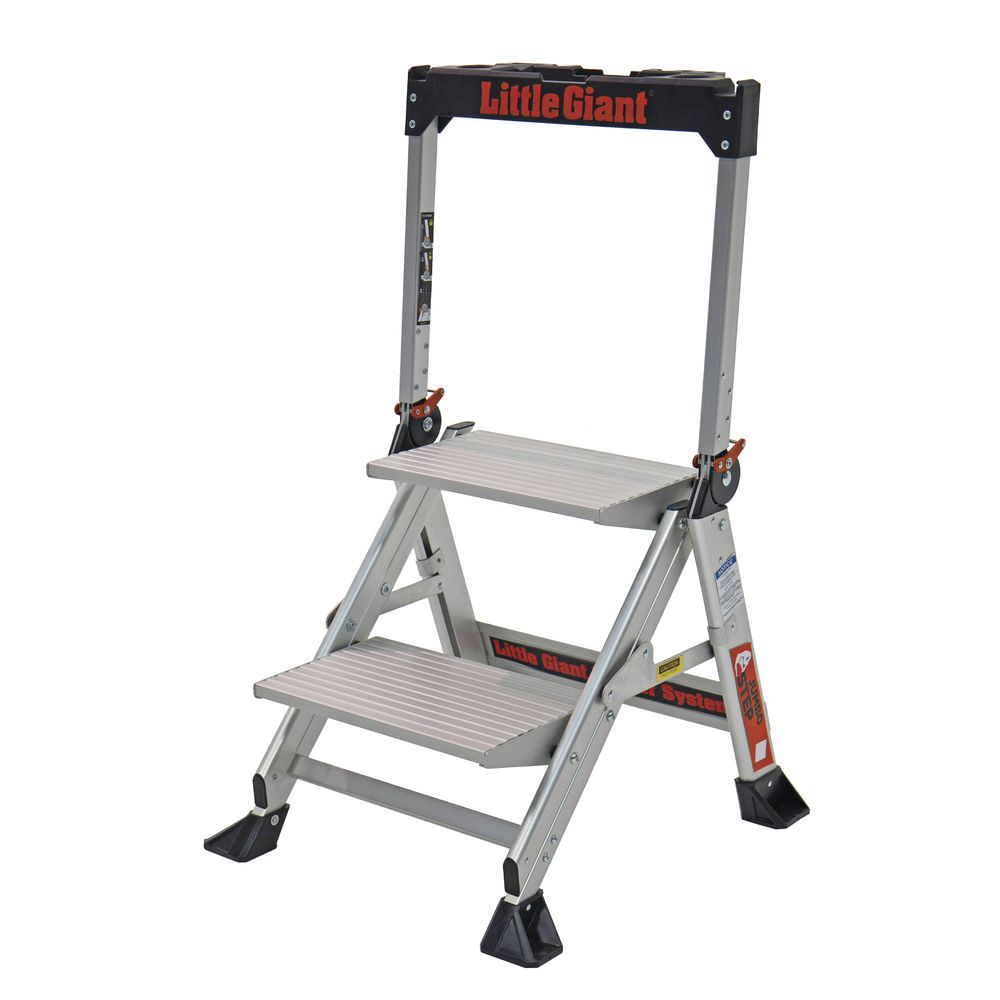 Awesome Little Giant Jumbo Step 2 Step Ladder 32H Pabps2019 Chair Design Images Pabps2019Com