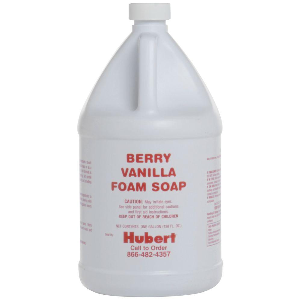 FOAM SOAP, BERRY VANILLA, 1 GALLON