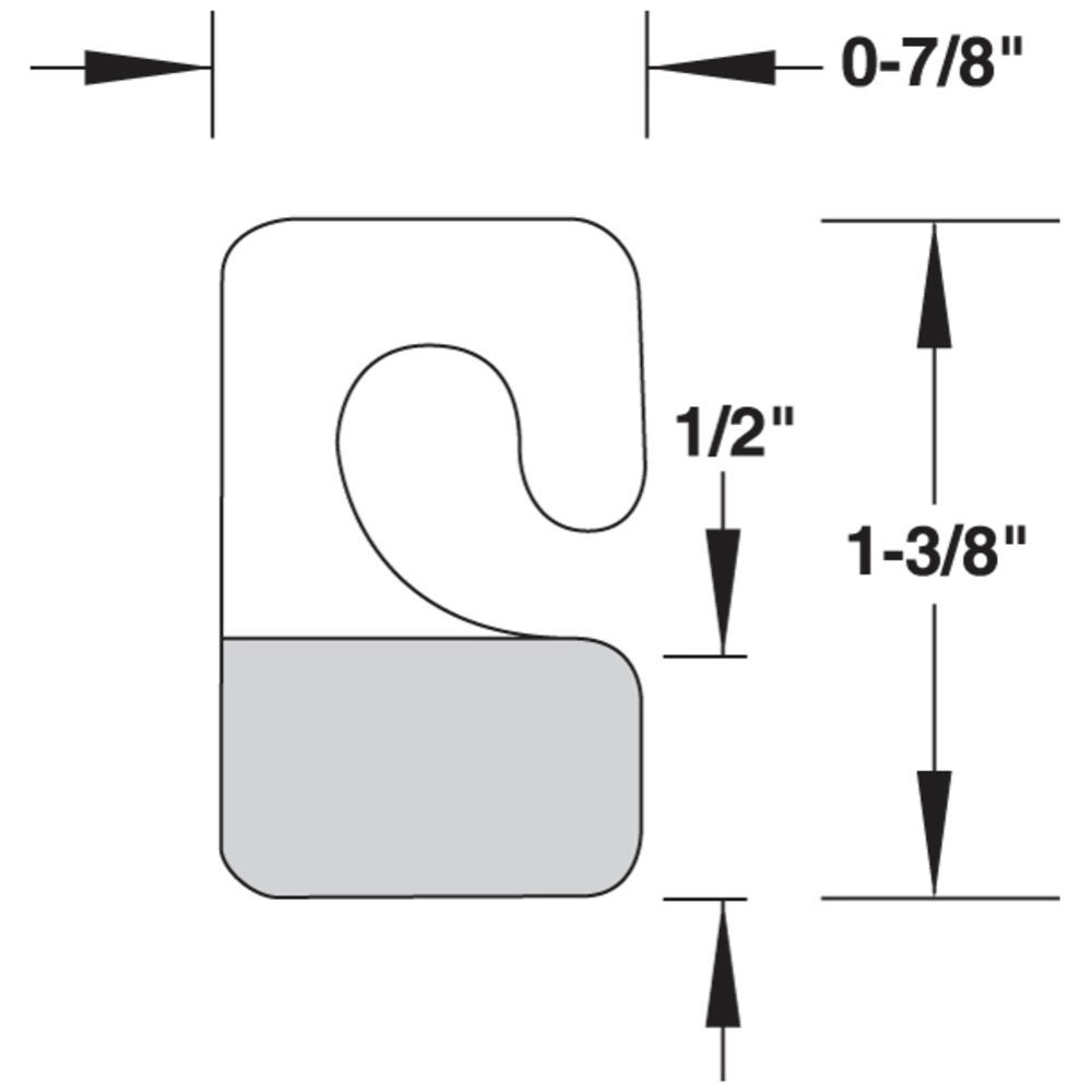 7/8 x 1 3/8  Custom Hang Tags