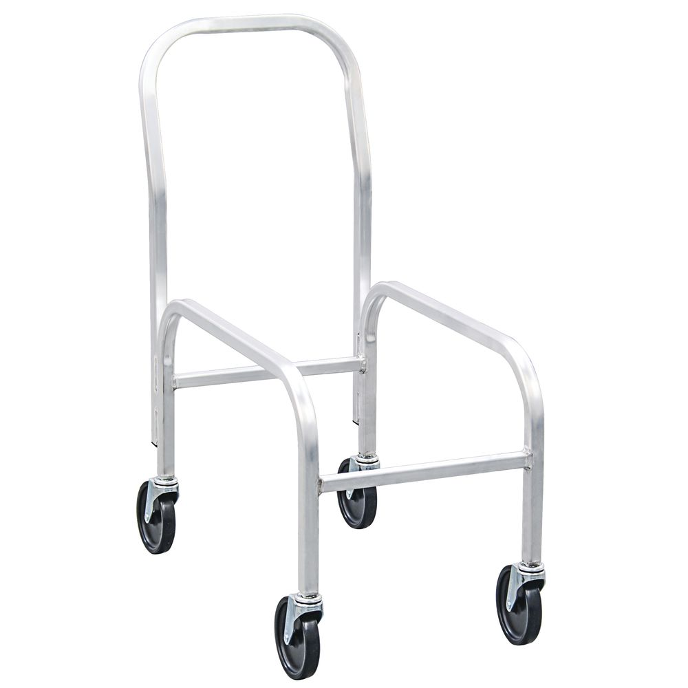"""NewAge Rolling Cart 30 3/4""""L x 16 3/4""""W x 36 1/2""""H Aluminum With Handle"""