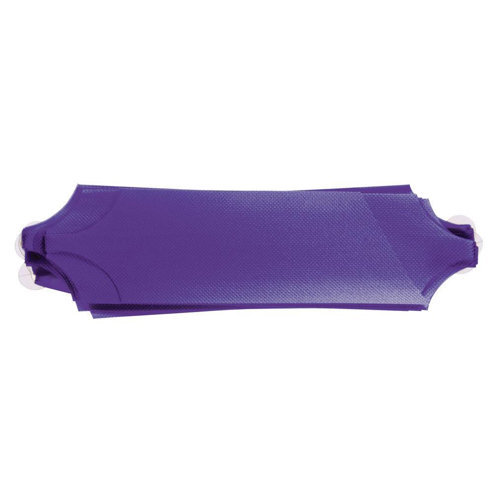 Purple Flora-Satin Pull Bows