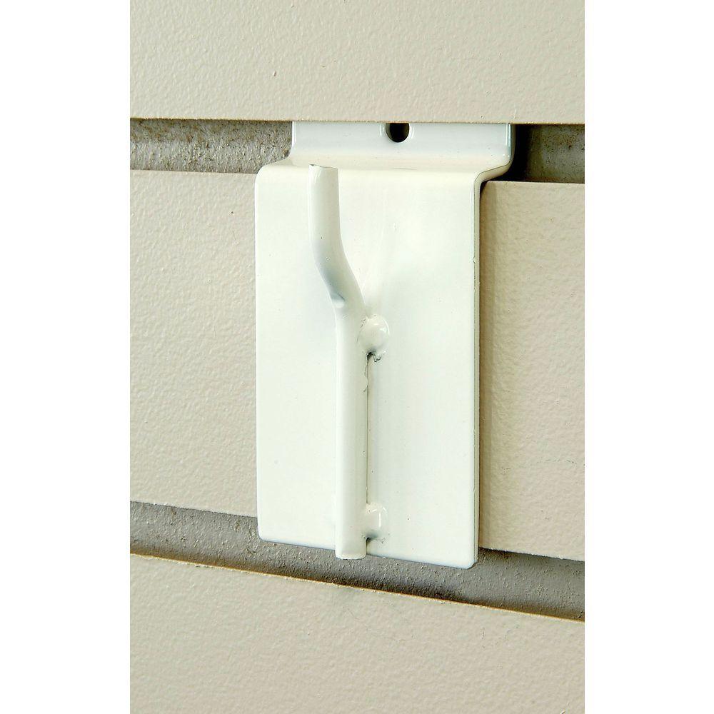 Slatwall Shelf attaches to gridwall