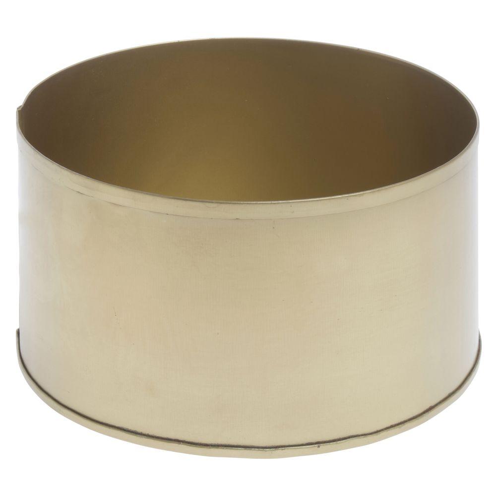 Metal Vase, Shallow