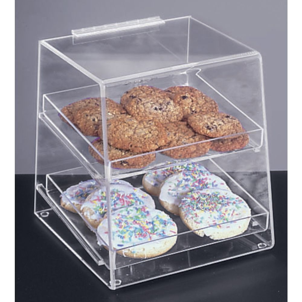 Two-Tier Acrylic Bakery Display Case